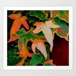 Colour Me Ivy Art Print