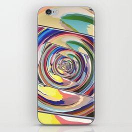 Spinning Colors Abstract iPhone Skin