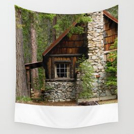 Cabin In The Woods... Wall Tapestry