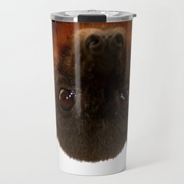 Little Red Flying Fox Hanging Out  Travel Mug