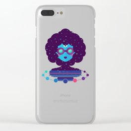 Ethereal Mistress Clear iPhone Case
