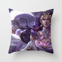 Lunar Goddess Diana Throw Pillow