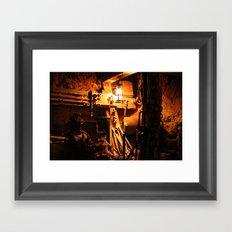 mine. Framed Art Print