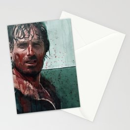 Don't Mess WIth Rick Grimes - The Walking Dead Stationery Cards
