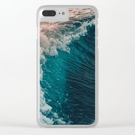 The waves Clear iPhone Case