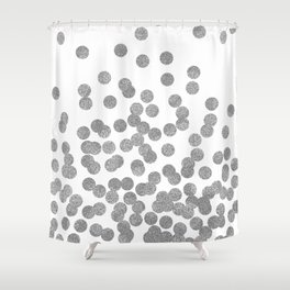 Silver Glitter Drops In Bold And Cute Modern Minimal Colors For Trendy Gifts Phone
