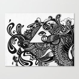 Minds Eye Canvas Print