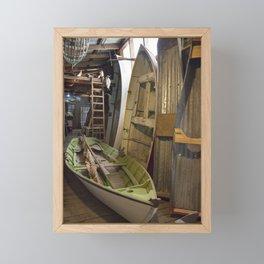 The Old Boat Shed Framed Mini Art Print