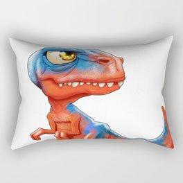 mini T-Rex Rectangular Pillow