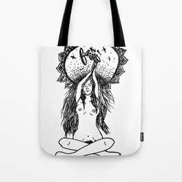 PEACE = F**OFF LIFE Tote Bag