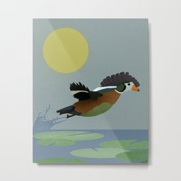 African Pygmy Goose Metal Print