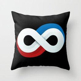 Infinite Bond Throw Pillow