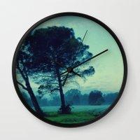 illusion Wall Clocks featuring Illusion by Anna Andretta