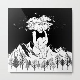 Across The Universe Metal Print