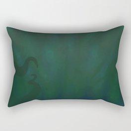 Drowning Rectangular Pillow