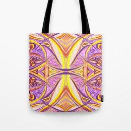 Tropical Fish 2 Symmetrical design Tote Bag
