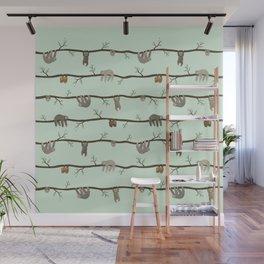sloths Wall Mural