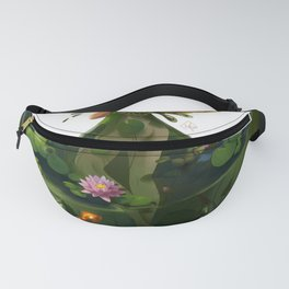 Naiad with Pond Dress Fanny Pack