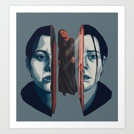Nell Crain Art Print