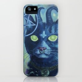 Unholy Kitty iPhone Case