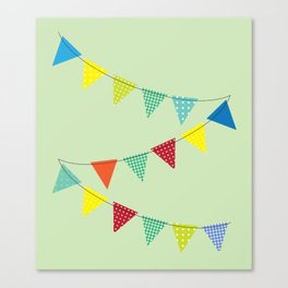 Hurray for boys! Canvas Print