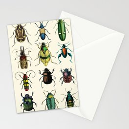 Jeweled Beetles  Stationery Cards