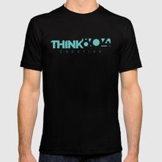 think804 Mens Fitted Tee Black LARGE