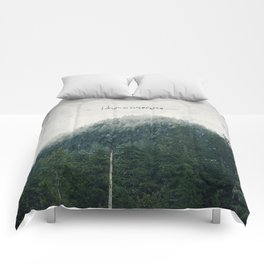 I Dream in Evergreen 2 Comforters