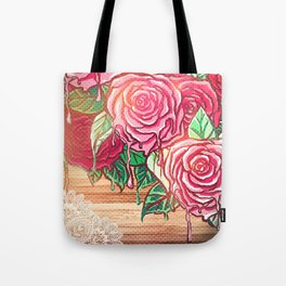 melting rose *flowersCollection* Tote Bag