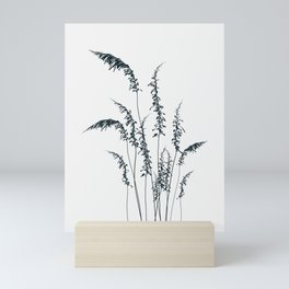 Wild grasses Mini Art Print