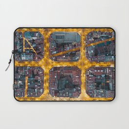 City Grid from Barcelona Laptop Sleeve