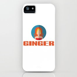 GINGER SPICE iPhone Case