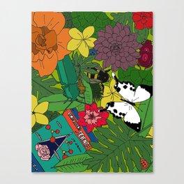 Biologist's Workspace Canvas Print