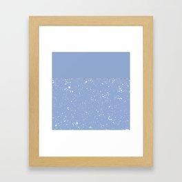 XVI - Blue 1 Framed Art Print