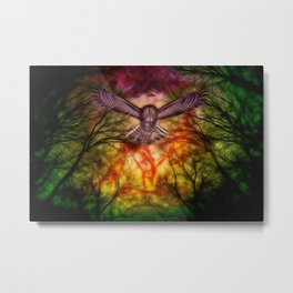 Theif in the Nights sky Fx  Metal Print