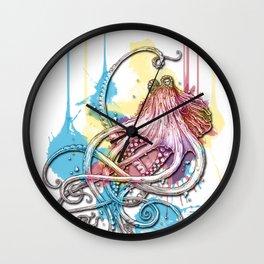 Octopus Ink Wall Clock