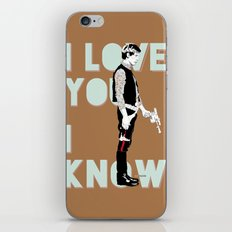 I know iPhone Skin