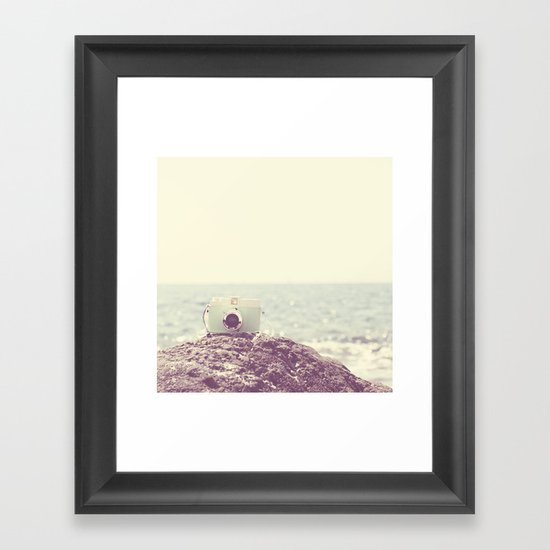 the dreamer ... Framed Art Print