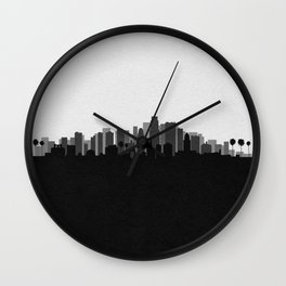City Skylines: Los Angeles (Alternative) Wall Clock