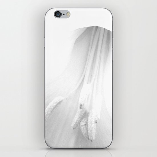 untitled white iPhone & iPod Skin