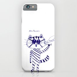 Mrs. Raccoon by Grady Gilmore iPhone Case
