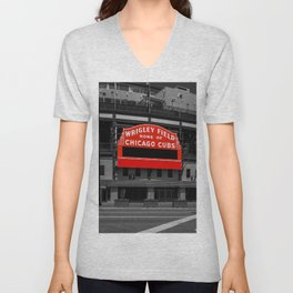 Read Red Unisex V-Neck