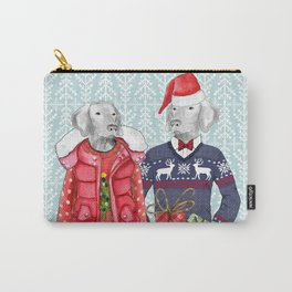 UGLY CHRISTMAS SWEATER WEIMS Carry-All Pouch