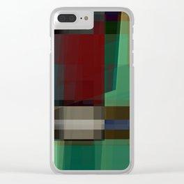 seekin' illusion Clear iPhone Case