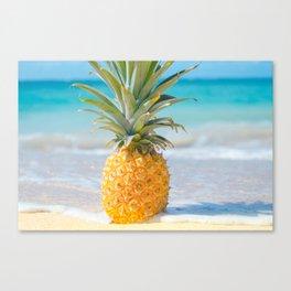 Aloha Pineapple Beach Kanahā Maui Hawaii Canvas Print