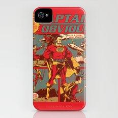 Captain Obvious! iPhone (4, 4s) Slim Case