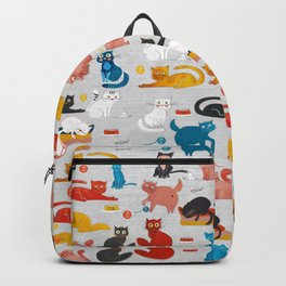 Playful Cats Backpack