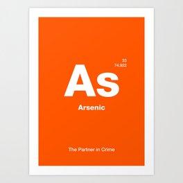 Arsenic Art Print