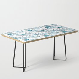 Underwater World with Jellyfishes dance Coffee Table