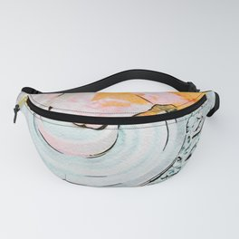 Hands of the ceramist craftsman Fanny Pack